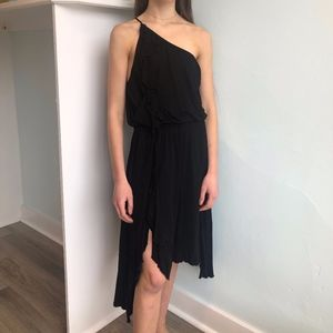 ELLA MOSS Black High Low Dress